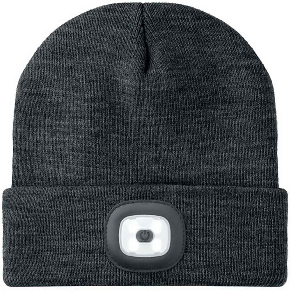 Beanie Light vit/svart