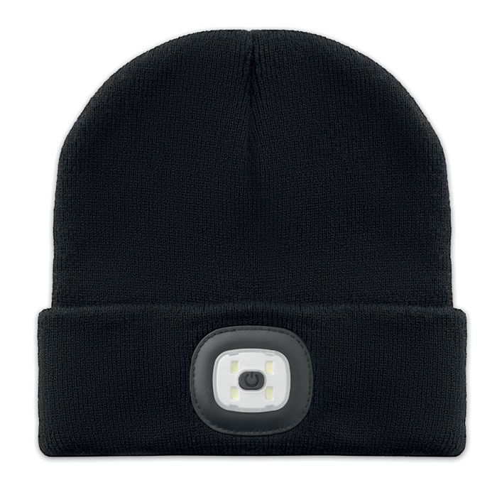 Beanie Light svart