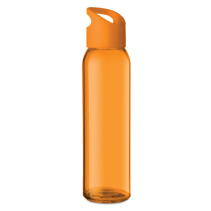 Praga Glass Bottle orange