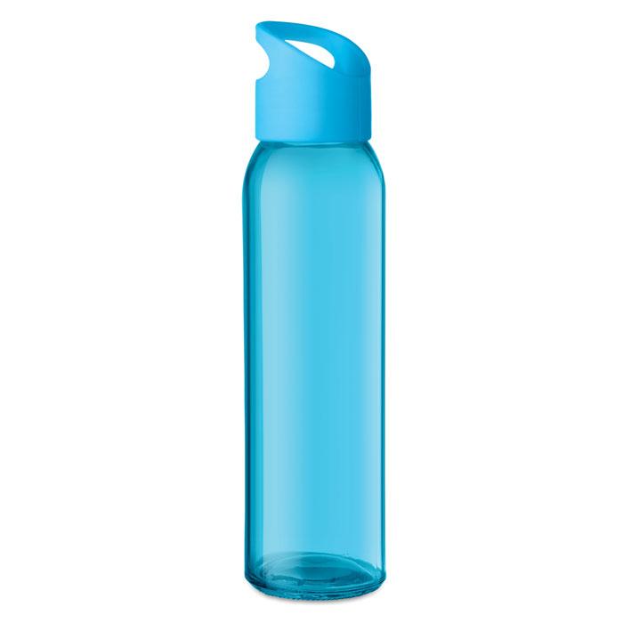 Praga Glass Bottle turkos