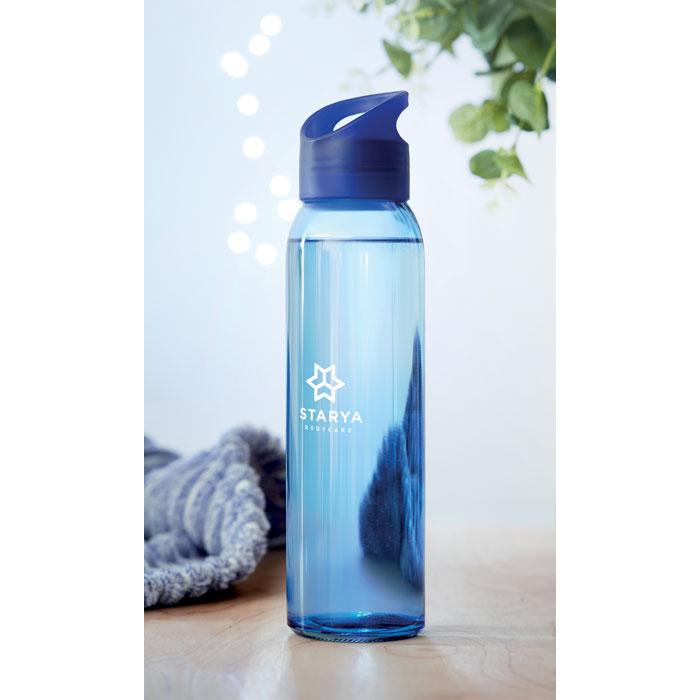 Praga Glass Bottle kungsblå