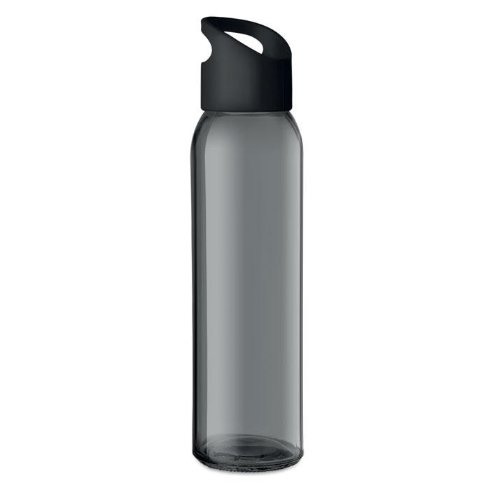 Praga Glass Bottle svart