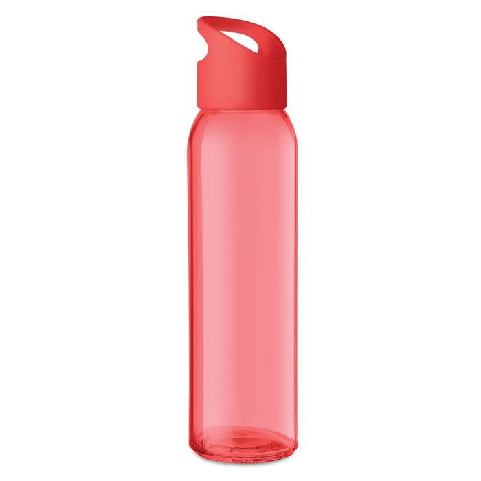 Praga Glass Bottle röd