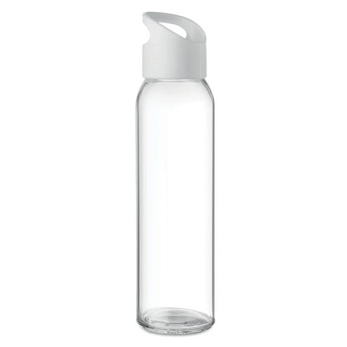Praga Glass Bottle vit