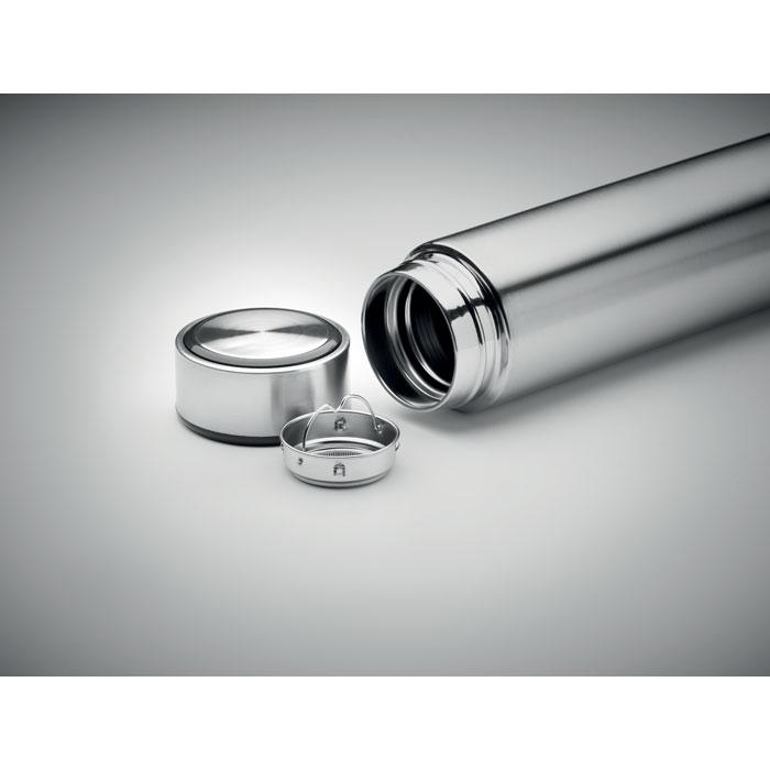 TERMOS POLE CORK silver