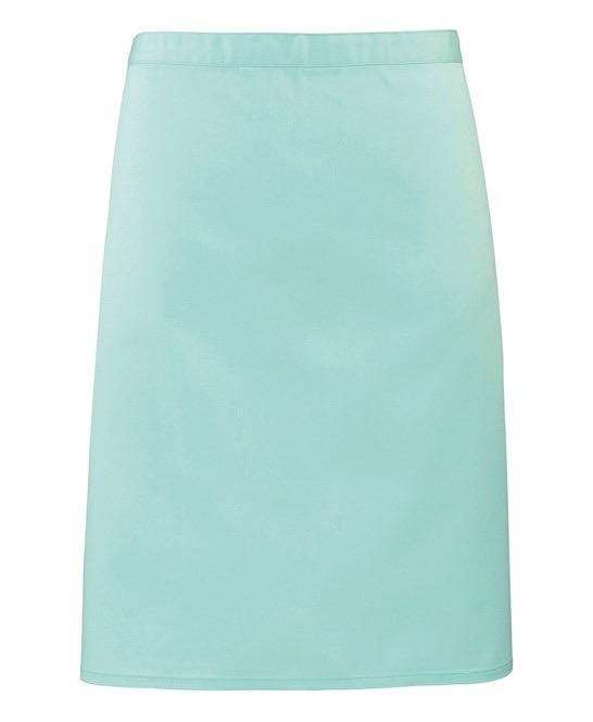 Mid-length apron Premier aqua