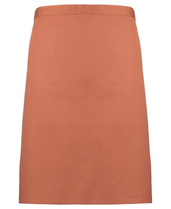 Mid-length apron Premier chestnut
