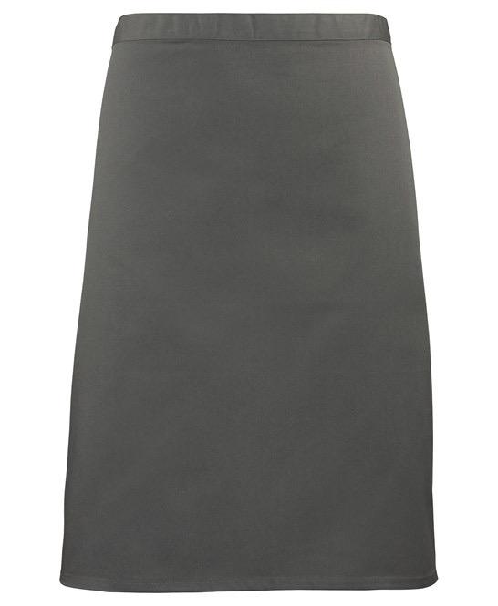 Mid-length apron Premier darkgrey