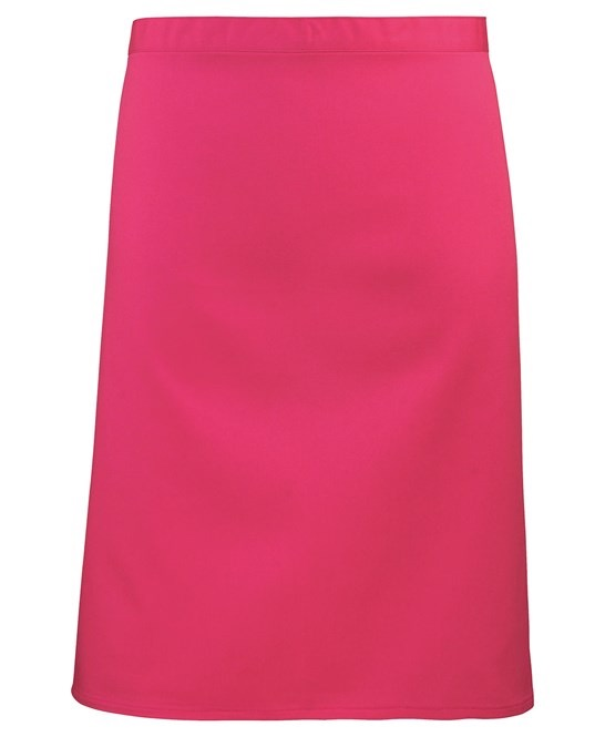 Mid-length apron Premier hotpink