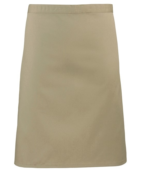 Mid-length apron Premier khaki