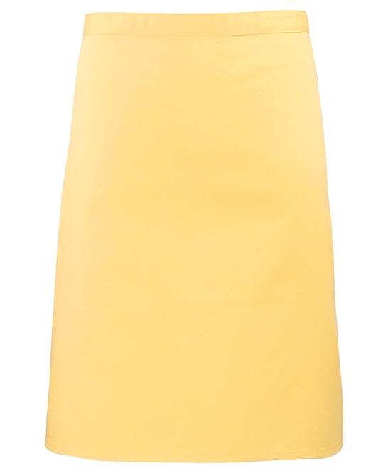 Mid-length apron Premier lemon