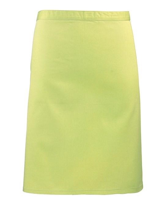 Mid-length apron Premier lime