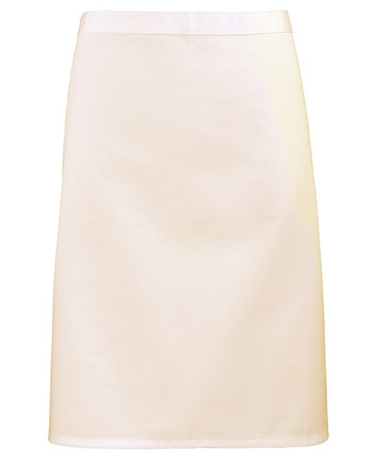Mid-length apron Premier natural