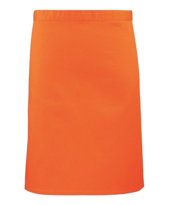 Mid-length apron Premier orange
