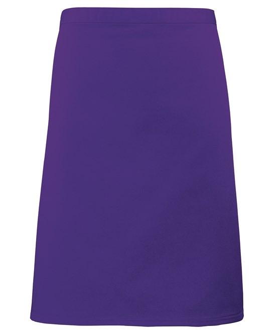 Mid-length apron Premier purple