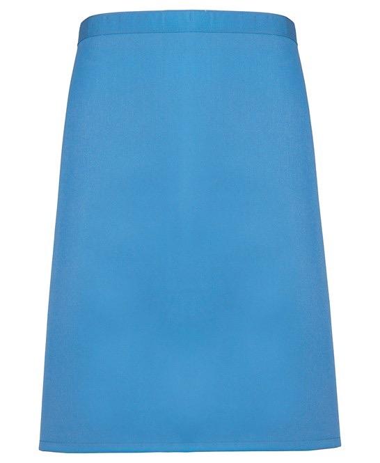 Mid-length apron Premier saphire