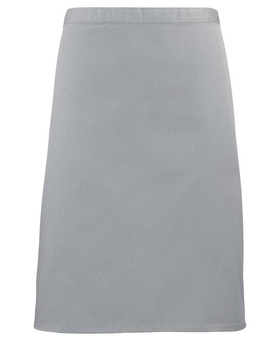 Mid-length apron Premier Silver
