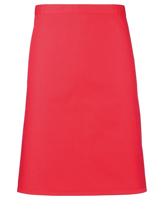 Mid-length apron Premier strawberry