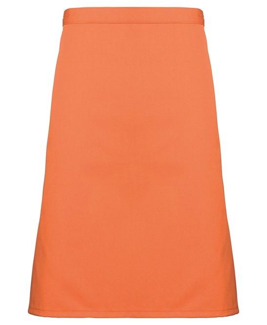 Mid-length apron Premier terracotta