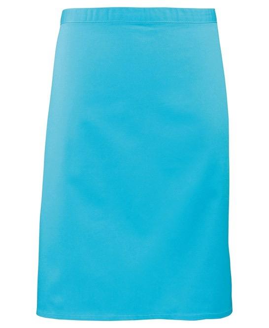 Mid-length apron Premier turquose