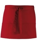 Colours 3-pocket apron burgundi