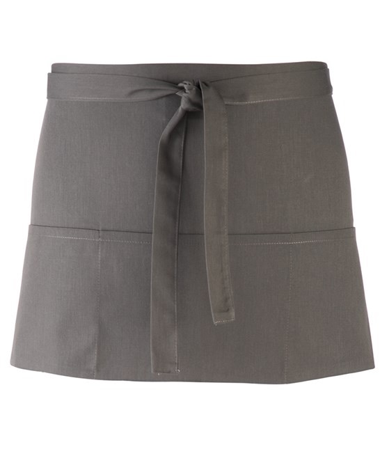Colours 3-pocket apron darkgrey