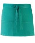 Colours 3-pocket apron emerald