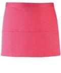 Colours 3-pocket apron fuchia