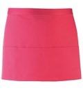 Colours 3-pocket apron hot pink
