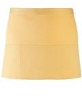 Colours 3-pocket apron lemon
