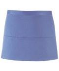 Colours 3-pocket apron mid blue