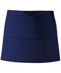 Colours 3-pocket apron navy