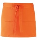 Colours 3-pocket apron orange
