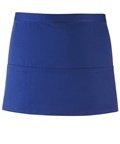 Colours 3-pocket apron royal