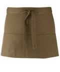 Colours 3-pocket apron sage