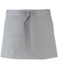 Colours 3-pocket apron silver
