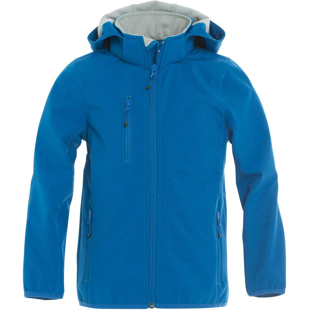 Basic Softshell Jacka Jr royal