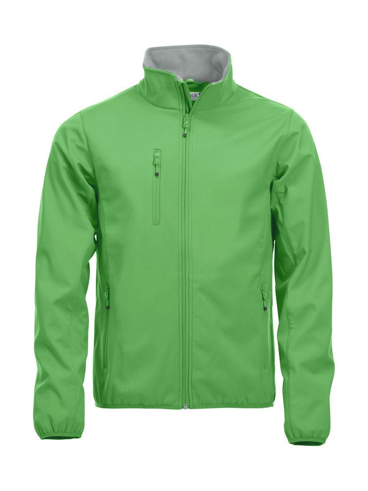Basic Softshell Jacka apple green