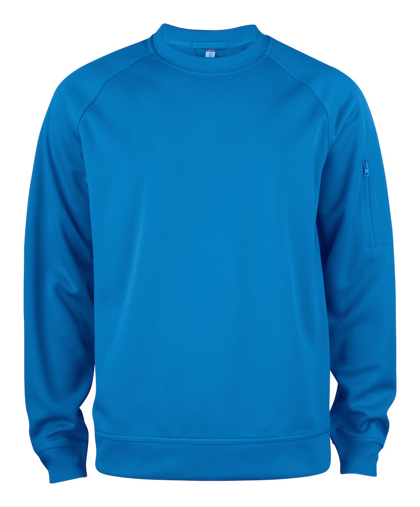 Basic Active Roundneck roaylblå