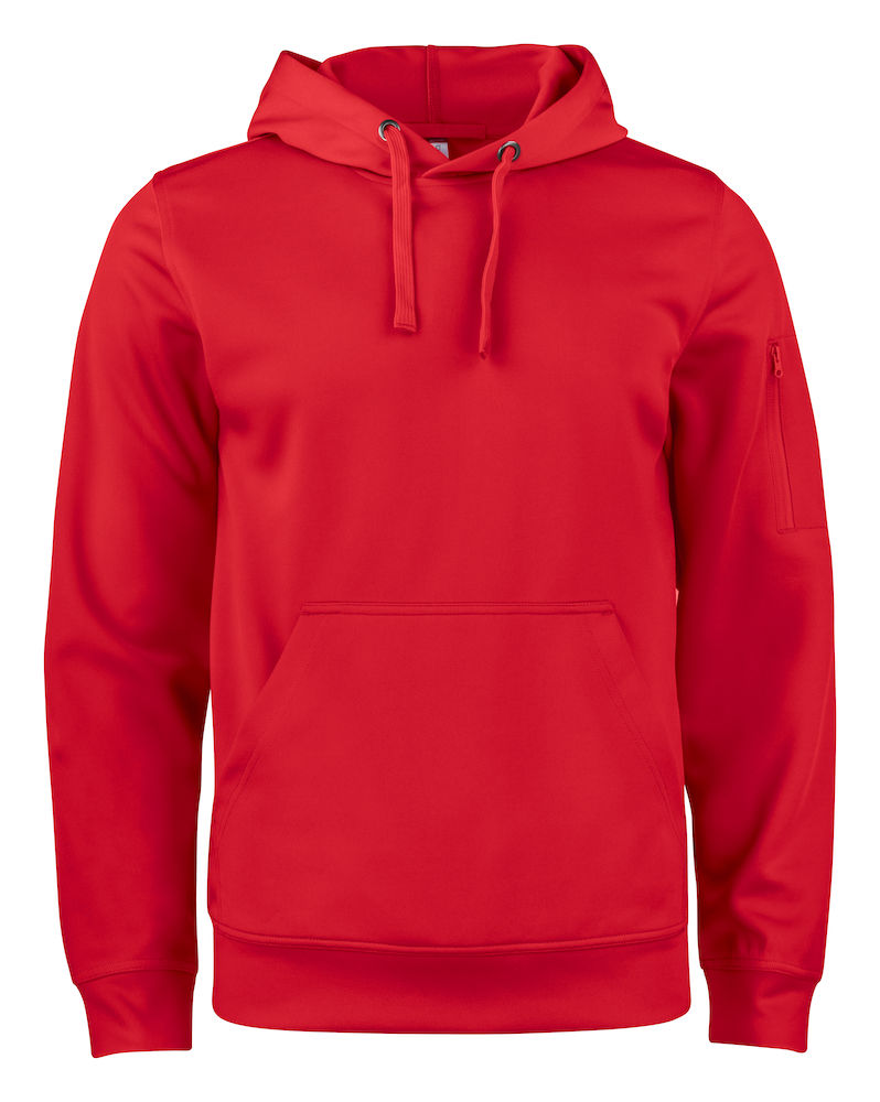 Basic Active Hoody röd