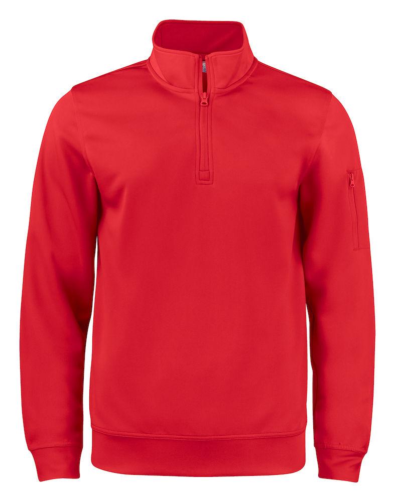 Basic Active Halfzip röd