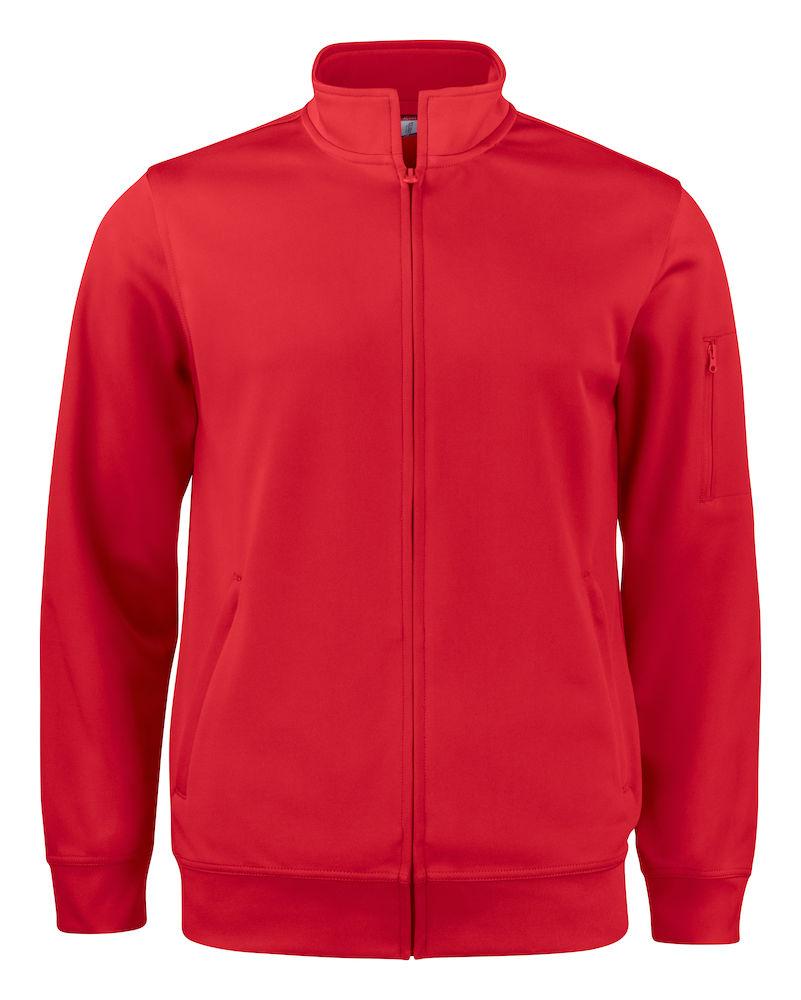 Basic Active Cardigan röd