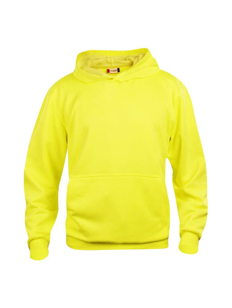 Clique Basic Hoody barn Visibility Yellow