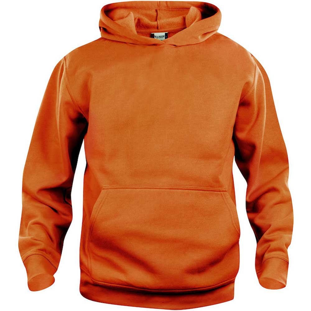 Clique Basic Hoody barn Visibility orange