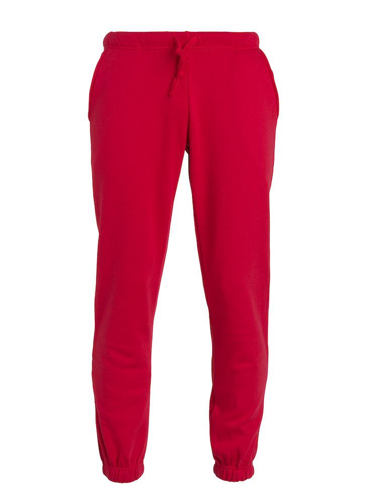 Clique Basic Pants barn röd
