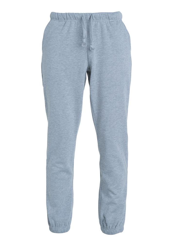 Clique Basic Pants barn gråmelerad