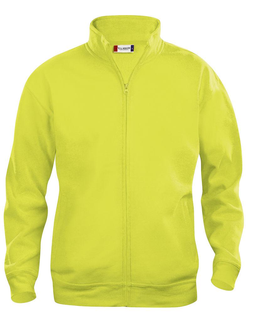 Clique Basic Cardigan barn visibility yellow