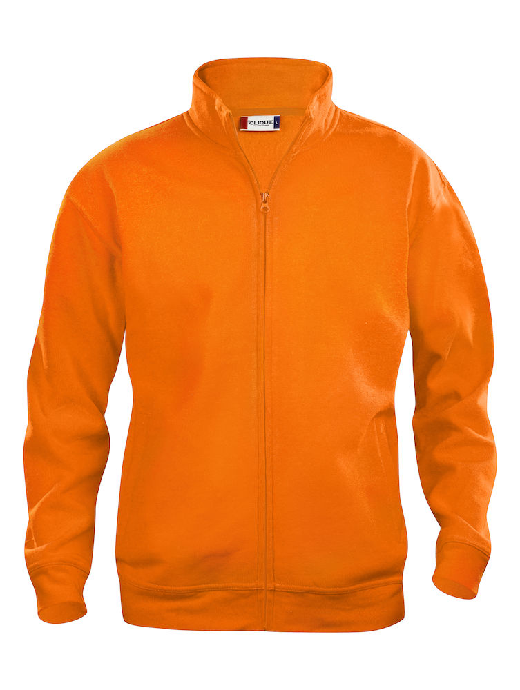 Clique Basic Cardigan barn visibility orange
