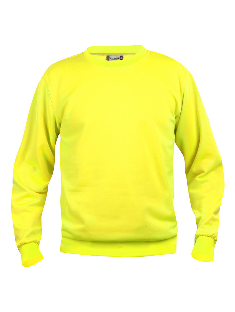 Clique Basic Roundneck visibility yellow