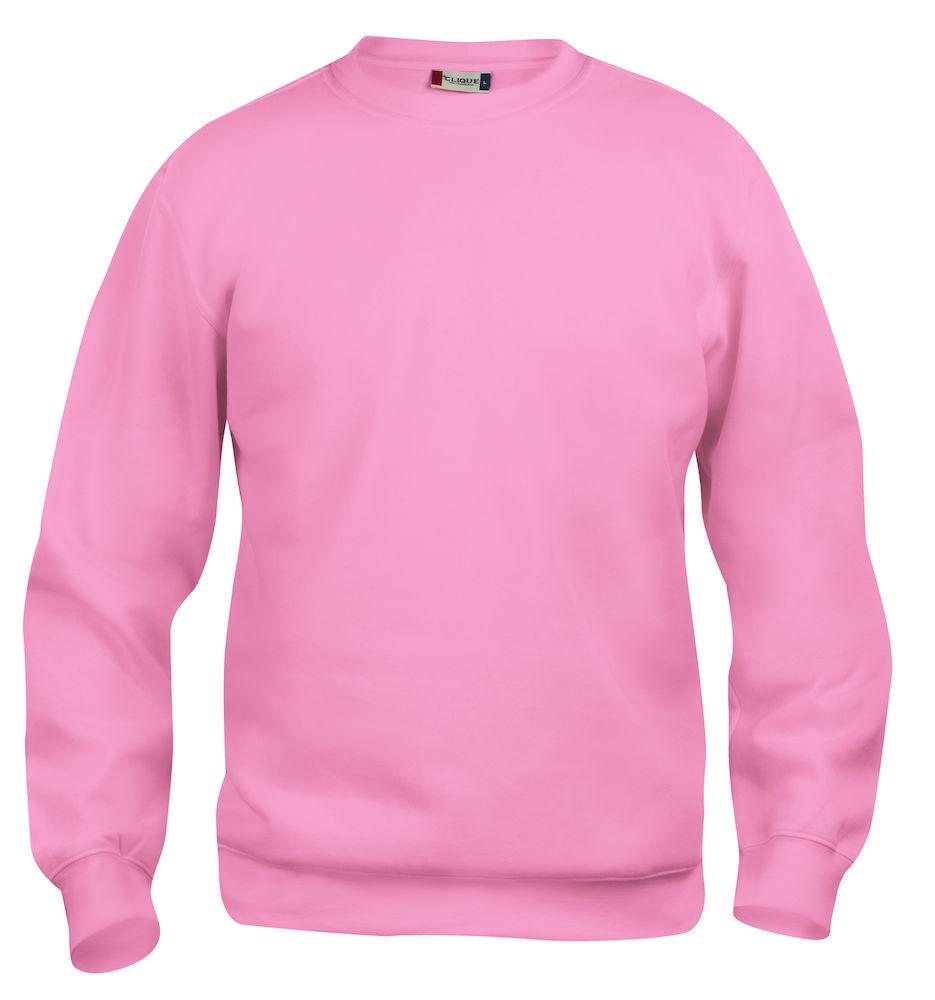 Clique Basic Roundneck bright pink